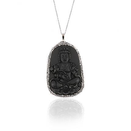 Buda Kemik Kolye (45 cm)